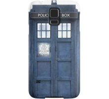 Tardis Blue - The Police Box Samsung Galaxy Case/Skin