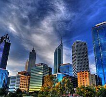 Perth City HDR by Jarmat