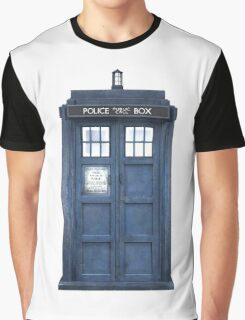 Tardis Blue - The Police Box Graphic T-Shirt