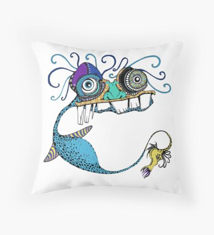 Sea-saw Throw Pillow