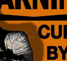 WARNING: Cursed by my MUMMY! Sticker
