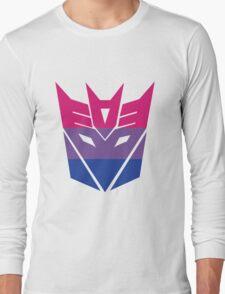 Decepticon Pride [Bisexuality] Long Sleeve T-Shirt