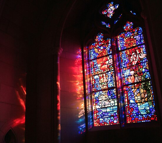 A Window in a Church by Cora Wandel