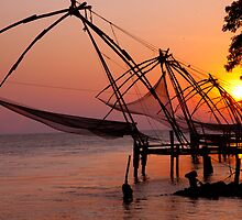 Kochi Fishing Nets by phil decocco