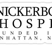 The Knick - Cross - Black Clean Sticker