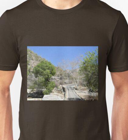 Sabino Canyon Road Unisex T-Shirt