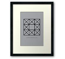Design 73 Framed Print