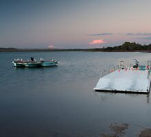 The Pontoon - Murchison River - Kalabarri by John Pitman