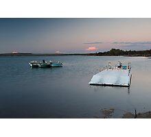 The Pontoon - Murchison River - Kalabarri Photographic Print