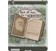 Popular Science: Charles Darwin 2 (distressed) iPad Case/Skin