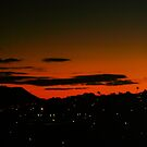 Sunset over Kaimuki IV by ZWC Photography