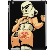 Who's Your Daddy? iPad Case/Skin