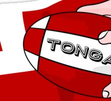 Tonga Rugby Flag Sticker
