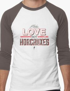 Make Love Not Horcruxes Men's Baseball ¾ T-Shirt