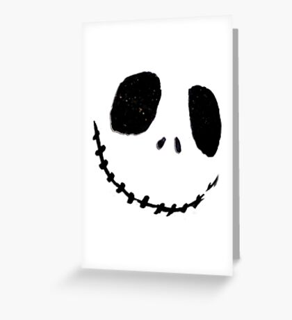 Jack Face Greeting Card