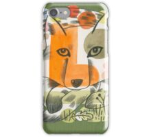 Out Foxed iPhone Case/Skin