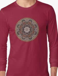 Mosaic Floor Tile Long Sleeve T-Shirt