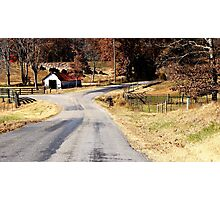 Home to the Farm.... Photographic Print