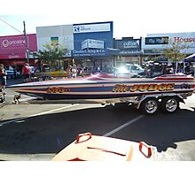 Southern 80 2012 - THE JUDGE SPEED BOAT - ECHUCA Photographic Print