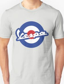 Vespa script mod symbol Unisex T-Shirt