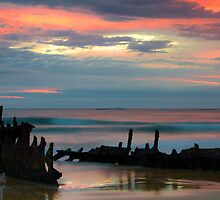 Sunrise at SS. Dicky by Steve Bass