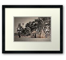 Once upon a time, there lived..... Framed Print