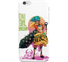 Oni Girl SMASH iPhone Case/Skin