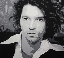 Michael Hutchence by Cathy Smith