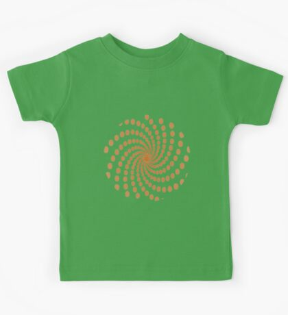 Circles in a Spin Kids Tee