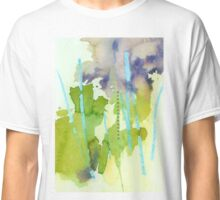 Watercolor Abstraction: Crayon Classic T-Shirt