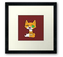 Simple Kitten Framed Print