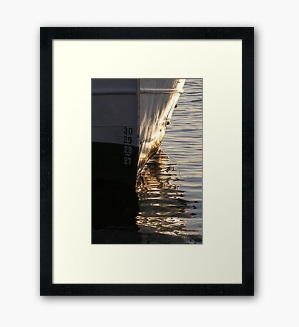 Reflections, Gothenburg Framed Print