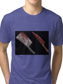 Bloody tools of death Tri-blend T-Shirt