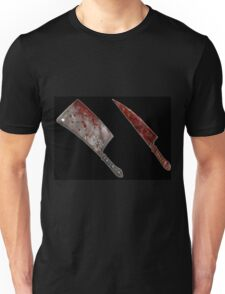 Bloody tools of death Unisex T-Shirt