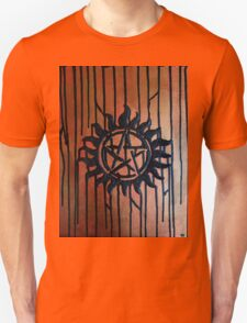 Supernatural Anti Possession Textured Abstract T-Shirt