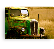 Rusted Work horse Canvas Print