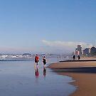 Surfers Paradise, Beach by MardiGCalero