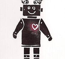 Heart Robot by KeLu