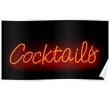 Cocktails Poster
