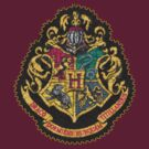 hogwarts emblem crest by alexcool
