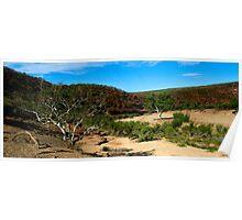Little Water - Ross Graham Gorge - Kalbarri Poster