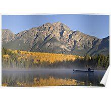 Patricia Lake, Jasper National Park, Canada Poster