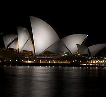 Opera House By Night by Scott Weeding