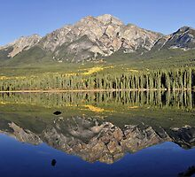 Pyramid Mountain, Jasper National Park by avresa