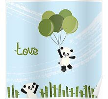 Bamboo Love Poster