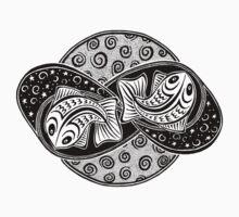 Pisces Tee by Barbara Glatzeder