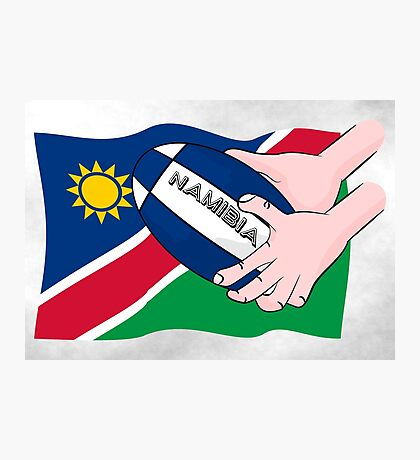 Rugby Namibia Photographic Print