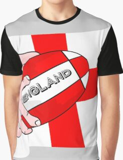 Rugby England Flag Graphic T-Shirt