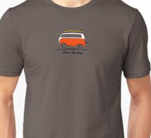 Red Van Gone Surfing  Unisex T-Shirt