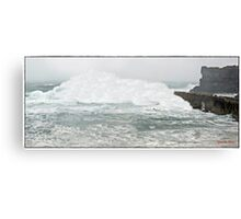 """ Storm alert for Cornwall"" Canvas Print"